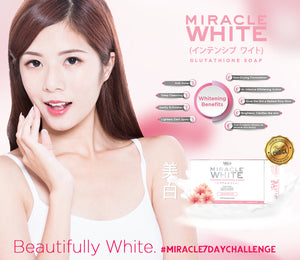 MIRACLE WHITE Glutathione Soap