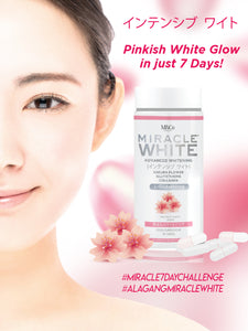 MIRACLE WHITE Glutathione Supplement