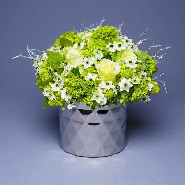 Green Side Table Bouquet