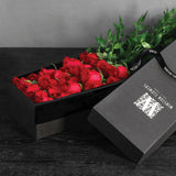 Two Dozen Long-Stemmed Roses In Box