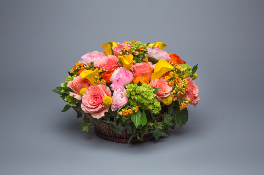 Garden Basket Centerpiece