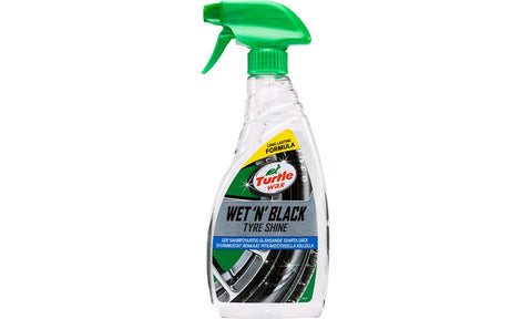 Turtle Wax - Wet ´n´ Black Tyre shine, 500 ml - lfmotoroptimering.dk
