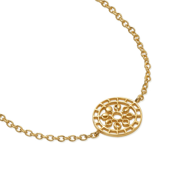 Puck Wanderlust_Moon Mandala Bracelet_Gold_White Background