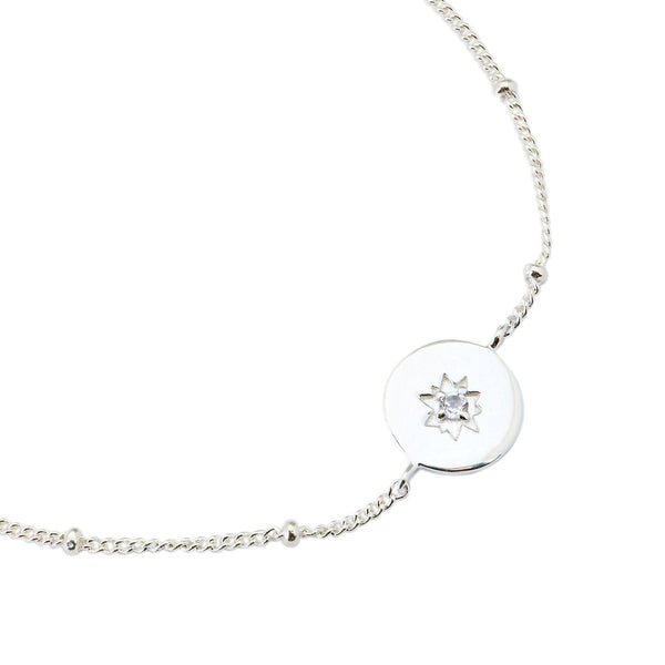 Puck Wanderlust_Central Jewel Friendship Bracelet-Silver-2CROP