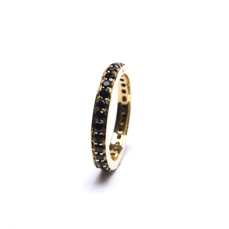 Puck Wanderlust_Gold Black Onyx Eternity Ring__White Background