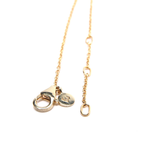 Adjustable Fine Chain Necklace Gold