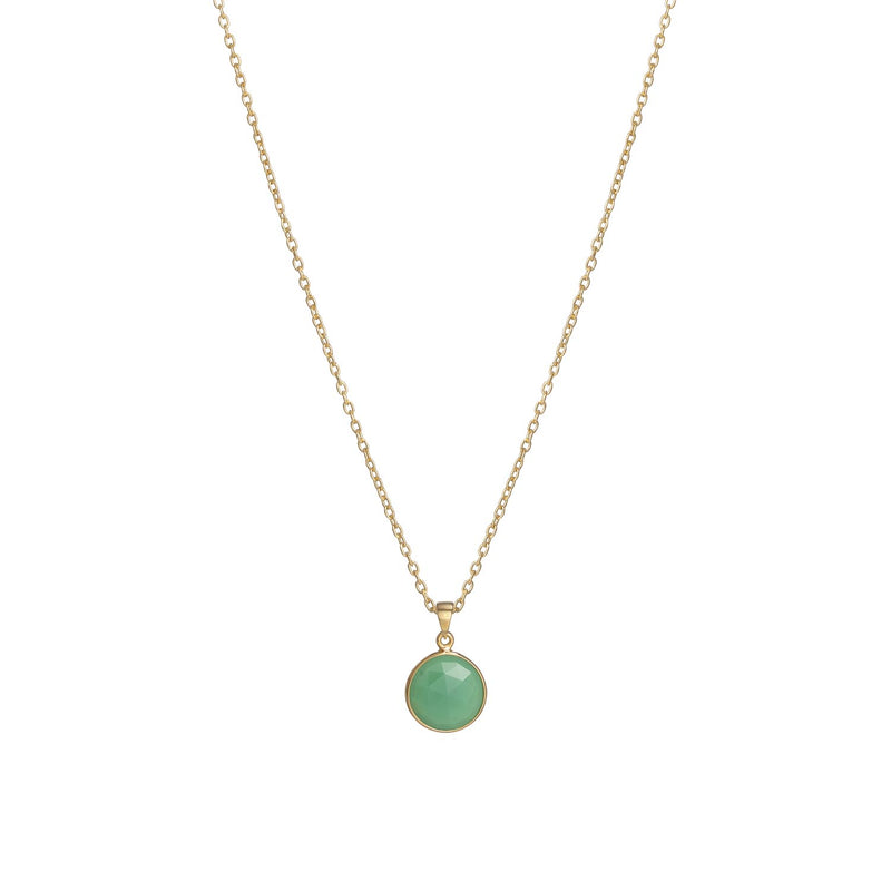 Puck-Wanderlust-Gold-Chrysoprase-Birthstone-Charm-Necklace-Cable-Chain