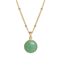 Puck-Wanderlust-Gold-Chrysoprase-Birthstone-Charm-Necklace-Satelite-Chain-Crop