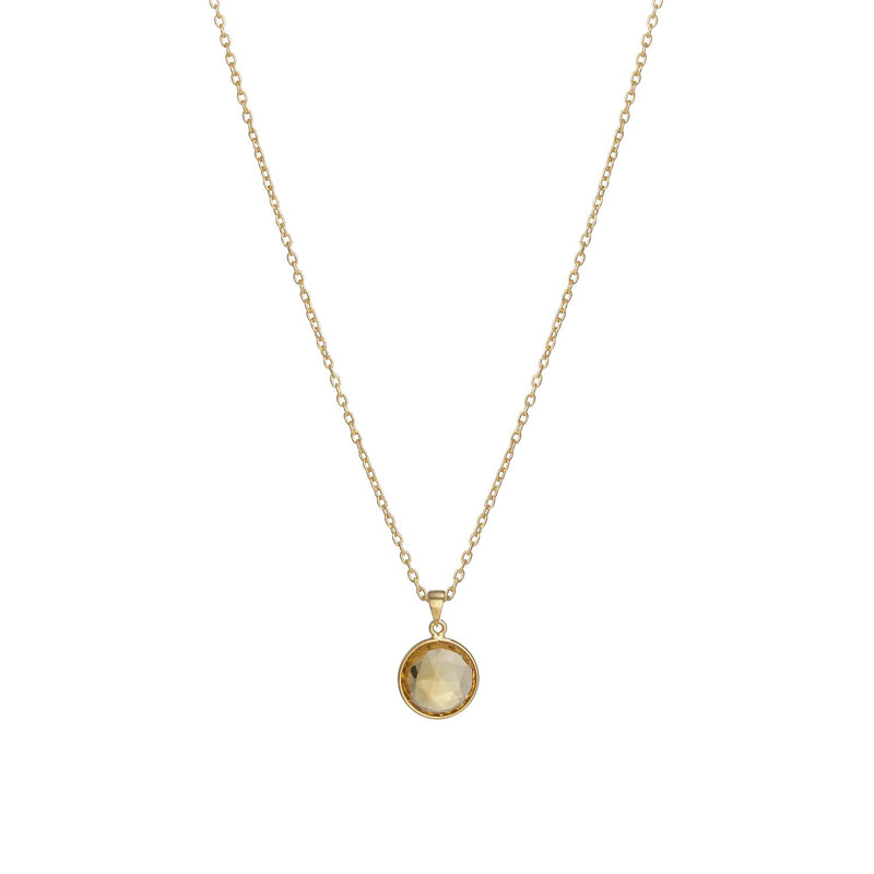 Puck-Wanderlust-Gold-Citrine-Birthstone-Charm-Necklace-Cable-Chain