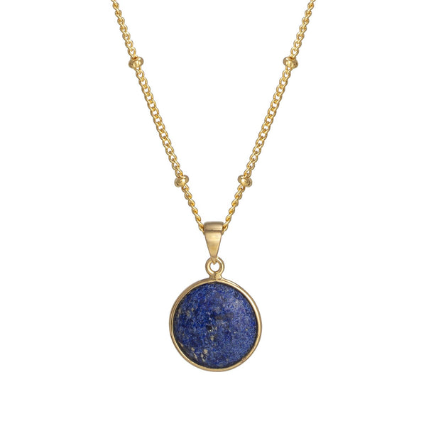 Puck-Wanderlust-Gold-Lapis-Lazuli-Birthstone-Charm-Necklace-Satelite-Chain-Crop