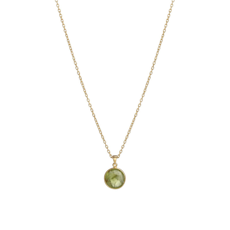 Puck-Wanderlust-Gold-Peridot-Birthstone-Charm-Necklace-Cable-Chain