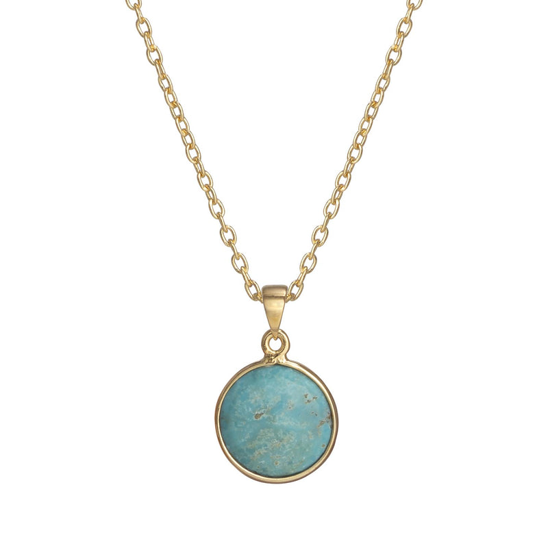 Puck-Wanderlust-Gold-Turquoise-Birthstone-Charm-Necklace-Cable-Chain-Crop