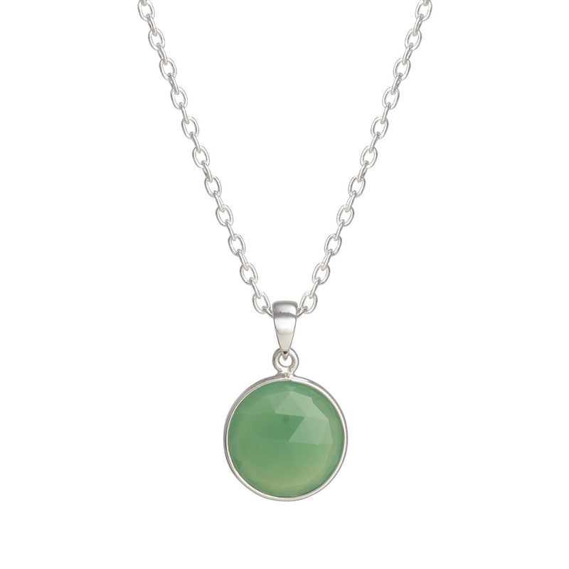 Puck-Wanderlust-Silver-Chrysoprase-Birthstone-Charm-Necklace-Cable-Chain-Crop