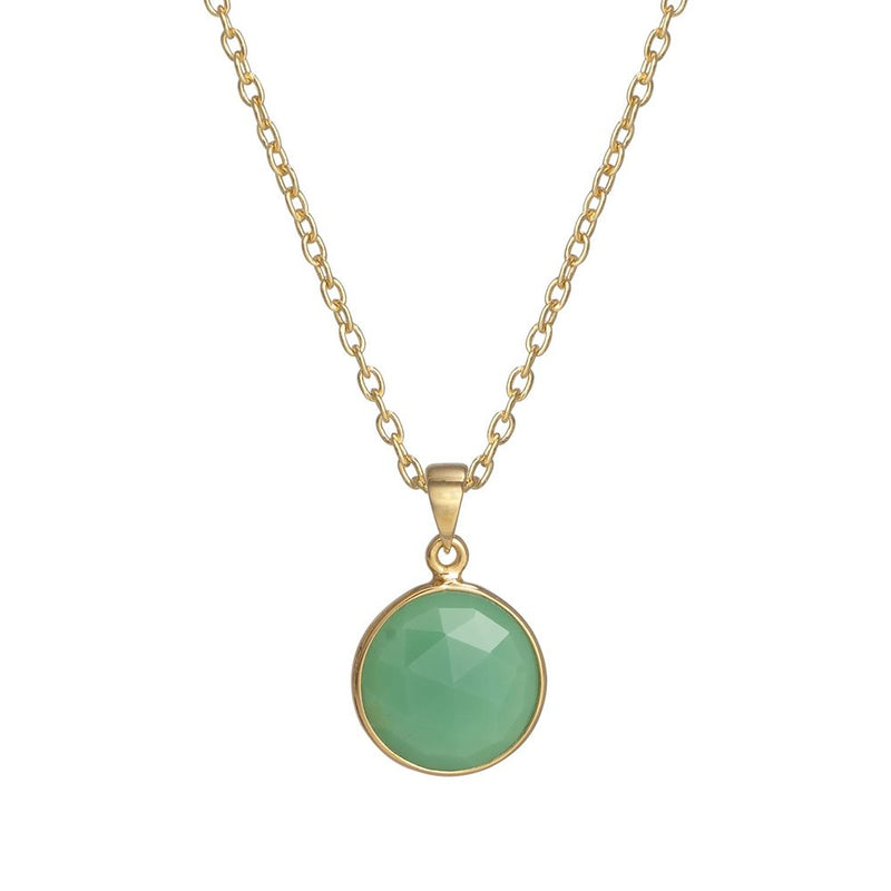 Puck-Wanderlust-Gold-Chrysoprase-Birthstone-Charm-Necklace-Cable-Chain-Crop