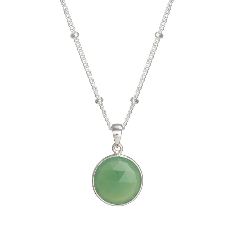 Puck-Wanderlust-Silver-Chrysoprase-Birthstone-Charm-Necklace-Satelite-Chain-Crop