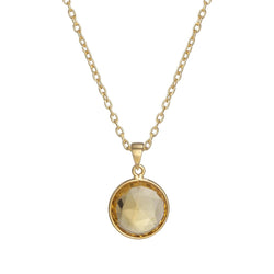 Puck-Wanderlust-Gold-Citrine-Birthstone-Charm-Necklace-Cable-Chain-Crop