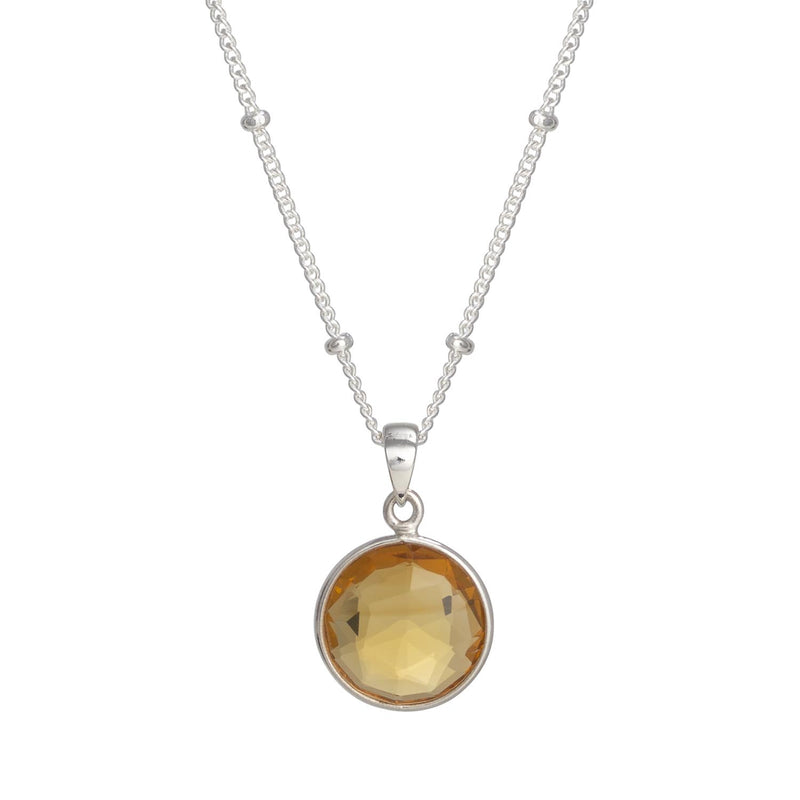 Puck-Wanderlust-Silver-Citrine-Birthstone-Charm-Necklace-Satelite-Chain-Crop