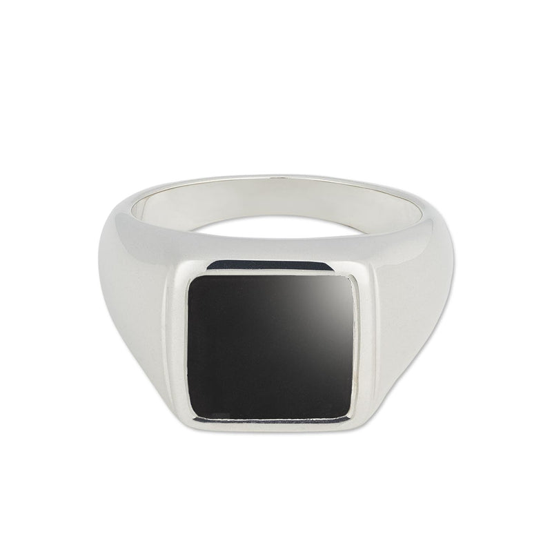 Puck-Wanderlust-Silver-Classic-Black-Onyx-Signet-Ring-Front