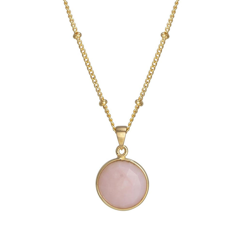 Puck-Wanderlust-Gold-Pink-Opal-Birthstone-Charm-Necklace-Satelite-Chain-Crop