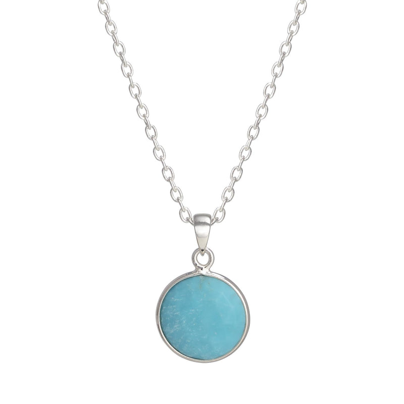 Puck-Wanderlust-Silver-Turquoise-Birthstone-Charm-Necklace-Cable-Chain-Crop