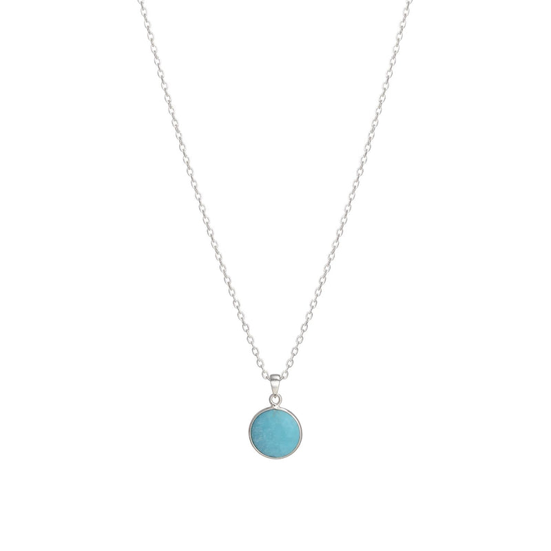Puck-Wanderlust-Silver-Turquoise-Birthstone-Charm-Necklace-Cable-Chain