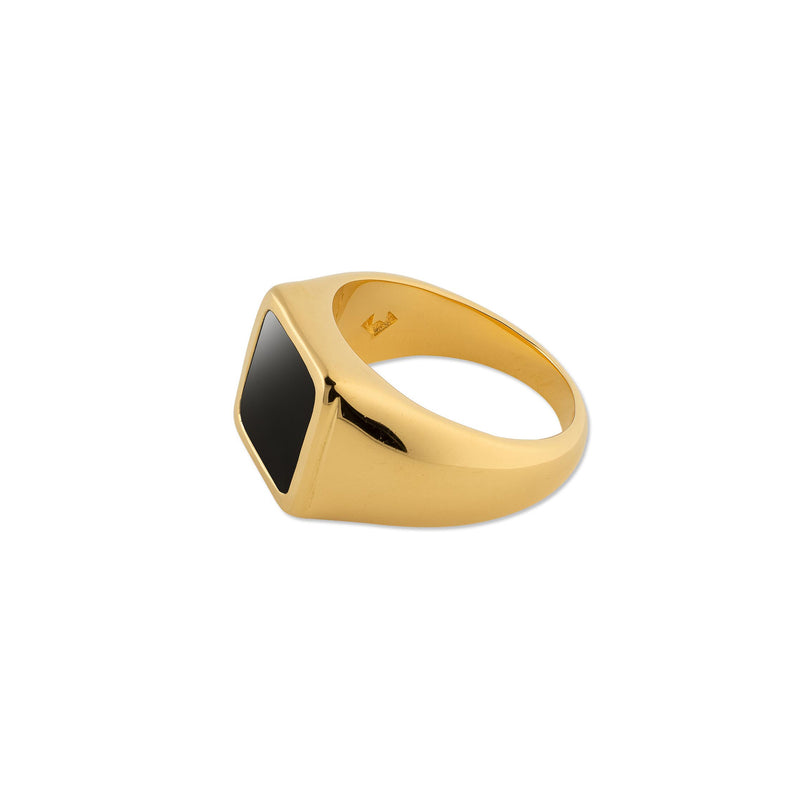 Puck Wanderlust-Gold-Classic-Black-Onyx-Signet-Ring-Logo-Small