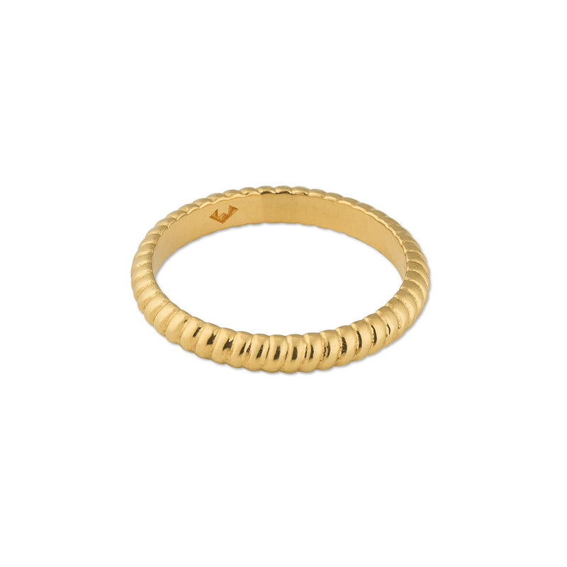 Puck Wanderlust-Gold-Empress-Twisted-Rope-Ring-Side-Small