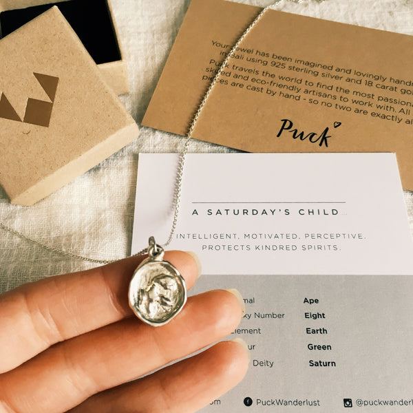 Puck Wanderlust_Saturdays Child Strength Totem Silver Ape_Packaging