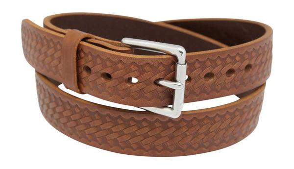 "1 1/2"" Basketweave Gun Belt"