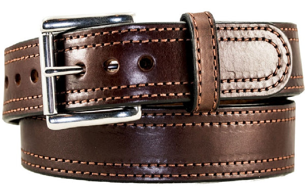"1 1/2"" Double Stitch Gun Belt"