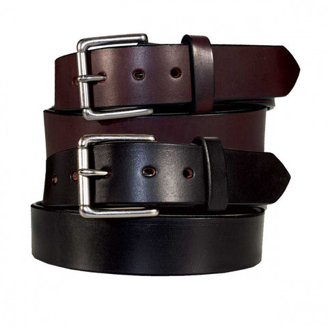 "Men's 1 1/2"" wide CCW Heavy Duty Concealed Carry Leather Gun Belt"