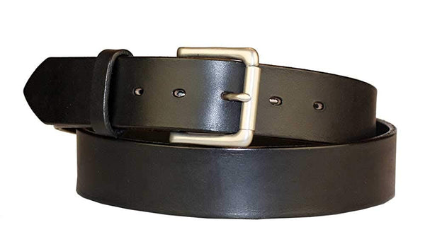 "1 1/2"" Casual Jean Distressed Leather Belt"