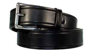 Men's Heavy Duty Belt Leather Work Belt USA Handcrafted Full Grain Leather 1 3/4'' 10 Year Warranty