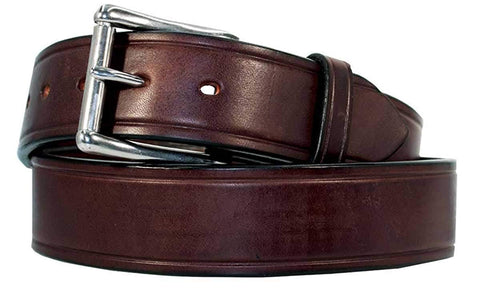 "1 1/2"" Heavy Duty Men's Leather Work Belt"