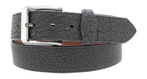 Casual Jean Belt Full Grain American Buffalo Leather Belt with tabs