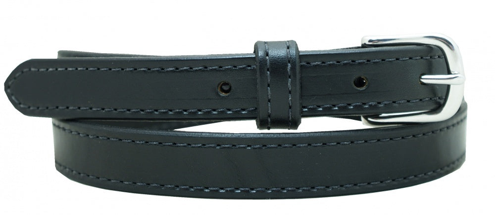 "1"" Stitched Harness Leather Belt"