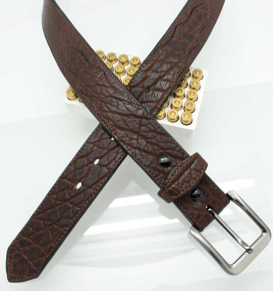 "1 1/2"" American Bison Casual/Dress Belt"