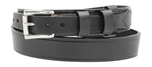 "Men's Heavy Leather Ranger 1 1/2"" Belt"