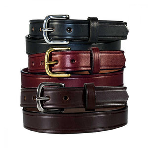 1'' Men's Leather Creased Dress Belts