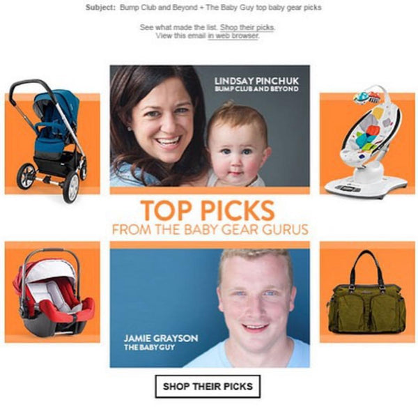 Nordstrom Top Picks from the Baby Gear Gurus