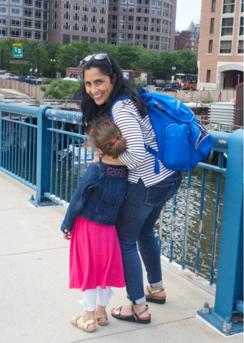 Blog Review: A Backpack Diaper Bag That Doesn't Look Like a Diaper Bag? Yes Please!