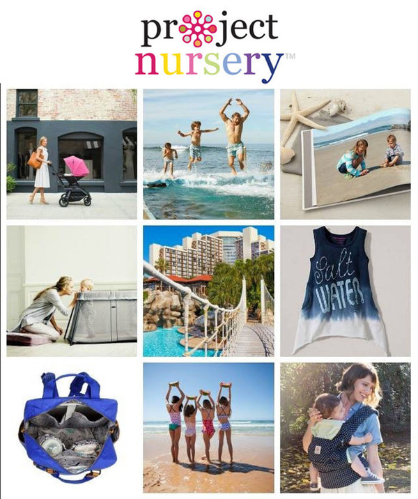 Summer Travel Campaign & Giveaway with Project Nursery