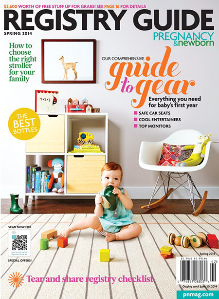 Press: Newborn & Pregnancy Spring 2014 Registry guide