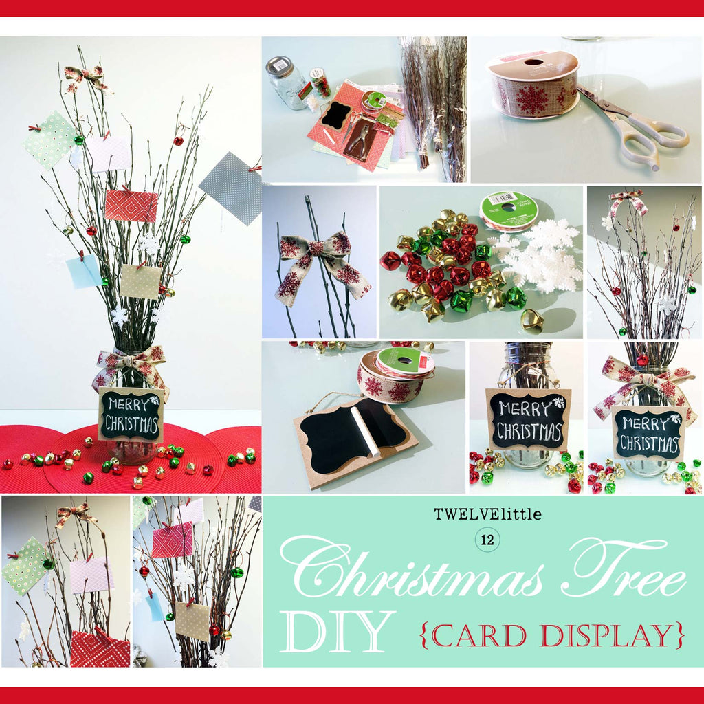 DIY TWIG TREE: An Alternative to the traditional Christmas tree.