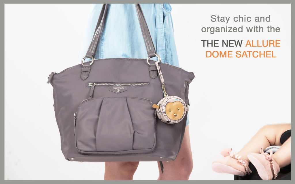 Stay chic and organized with The New Allure Dome Satchel