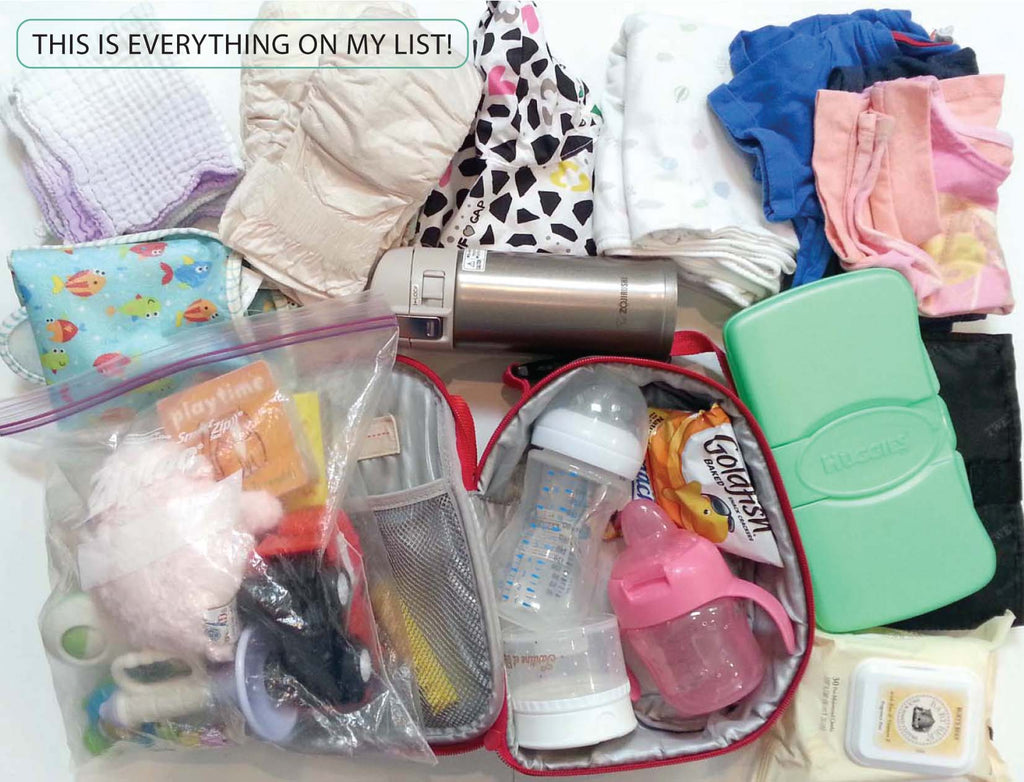 HOW TO PACK A BACKPACK BABY BAG