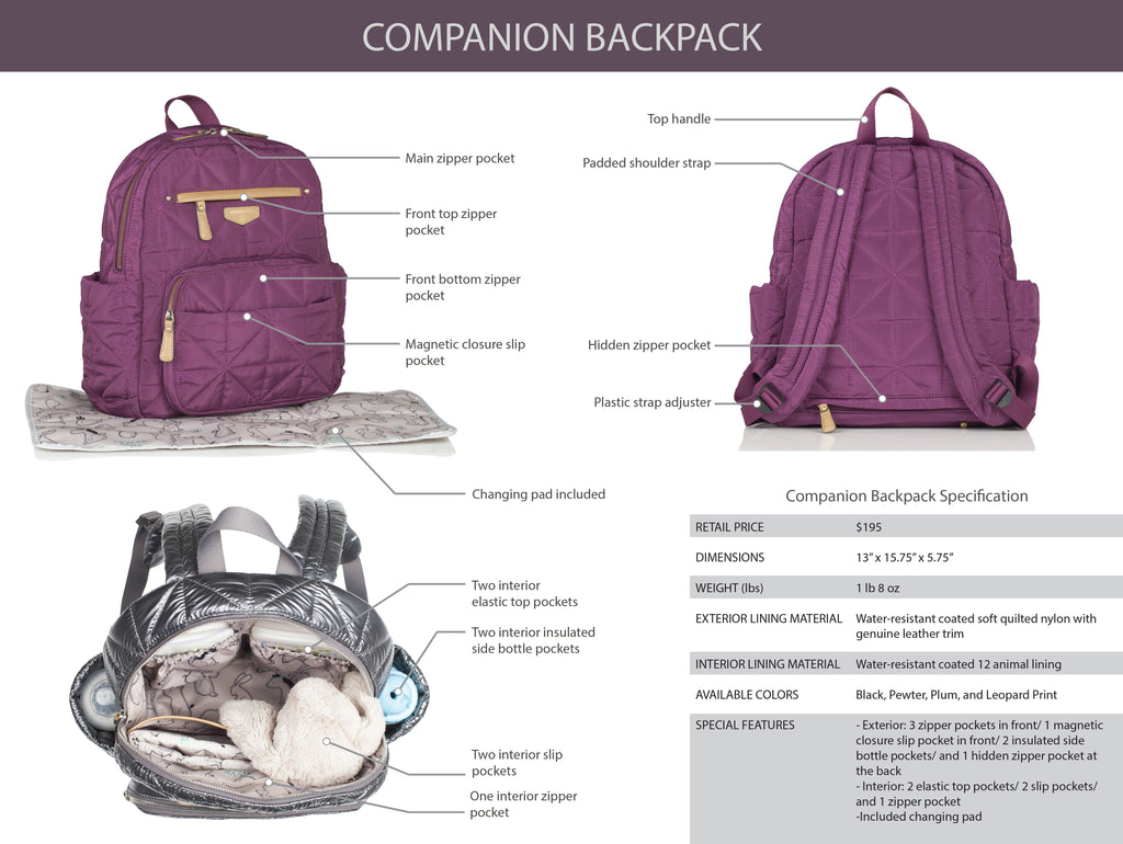 Inside the Companion Backpack