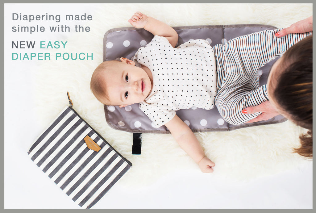 Diapering made simple with the New Easy Diaper Pouch