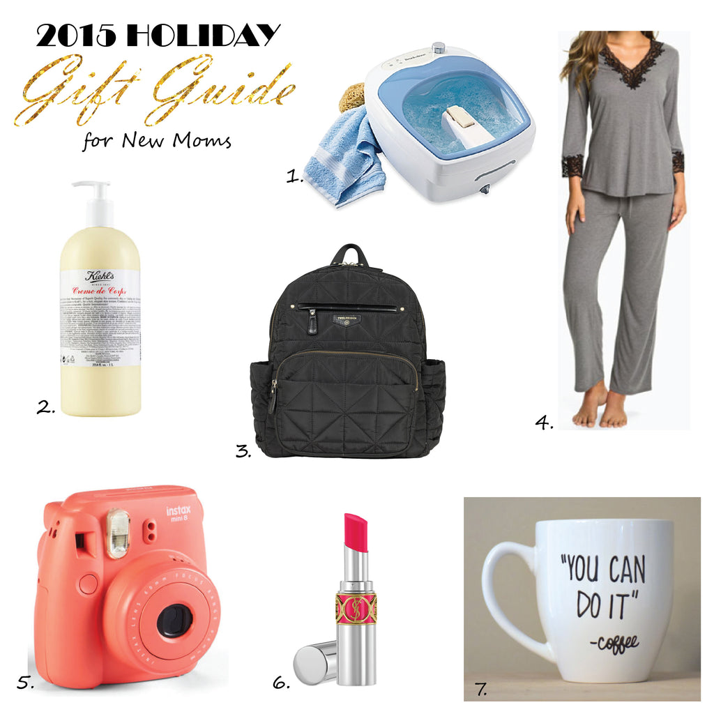 2015 Holiday Gift Guide for New Moms