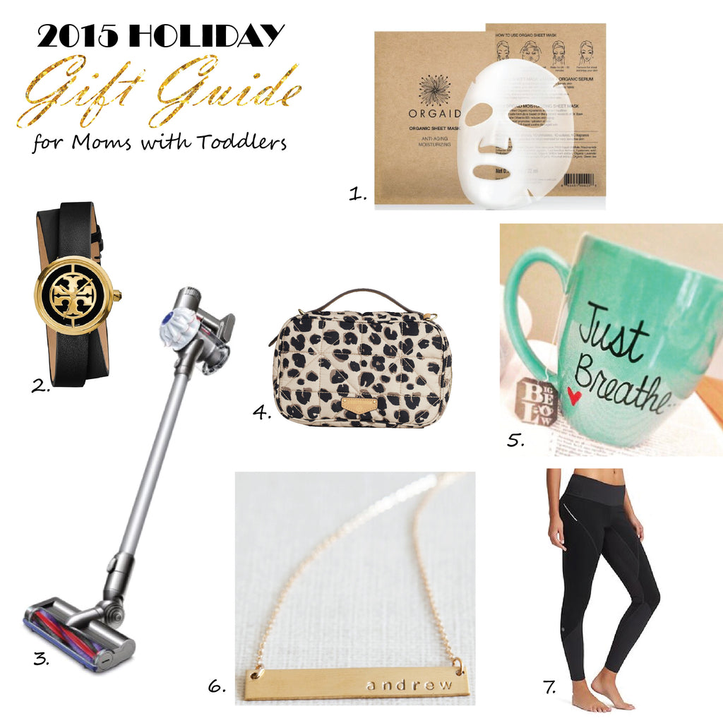 2015 Holiday Gift Guide for Moms with Toddlers